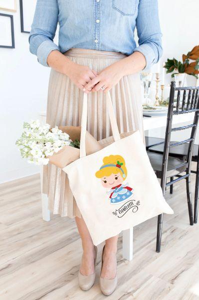 [Customise] X'mas Cinderella Tote Bag