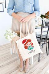 [Customise] X'mas Mermaid Tote Bag