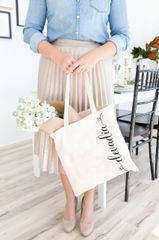 [Customise] Harelia_Side Tote Bag