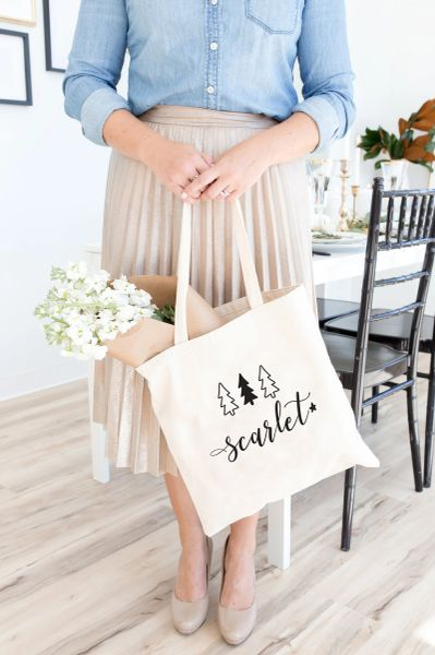 [Customise] Winter Time Tote Bag