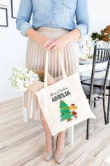 [Customise] Xmas Girl/Boy Tote Bag