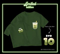 *Limited Edition* Matcha milk-TEE [Adult ONLY]