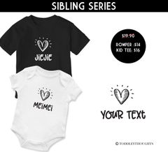 Sibling Love #2 (Select own color) [Price is per pc]