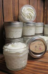 Whipped Tallow in Glass Jar