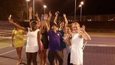 Tony G Tucson DJ and Karaoke Service at an all girls tennis event