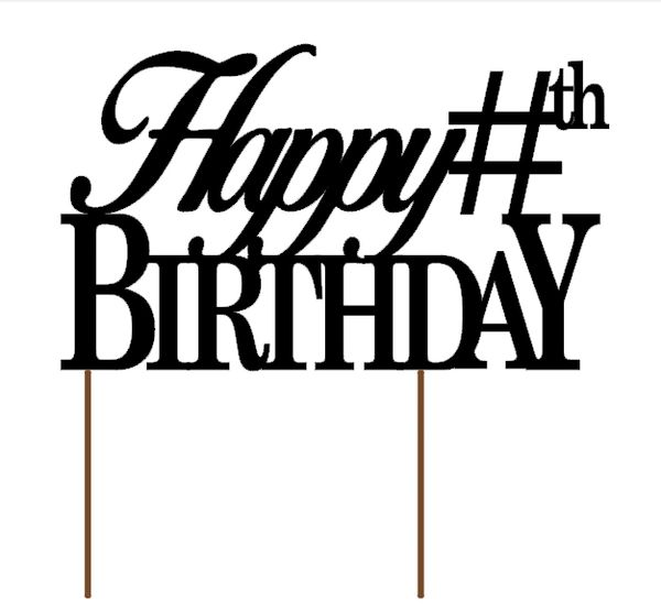 Awesome Custom Birthday Cake Topper All About Details Personalised Birthday Cards Veneteletsinfo