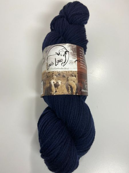 Surprise Valley Blue Jay Worsted Weight Fine Rambouillet Wool Yarn