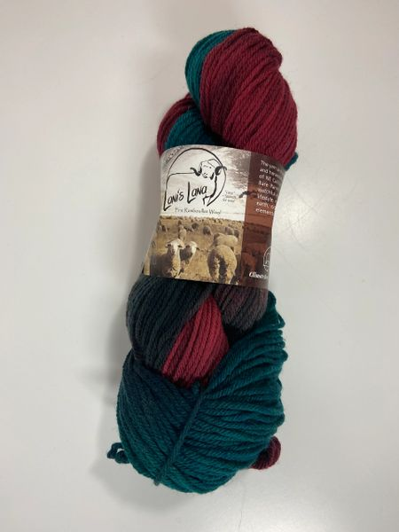 Surprise Valley Yarns Winged Teal Worsted Weight Fine Rambouillet Wool Yarn