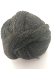 Storm Rambouillet Wool Roving (Combed Top) - 4 oz bump