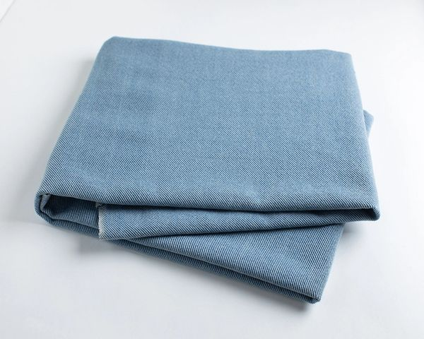 Natural Indigo Union Cloth fabric per 1/2 yard
