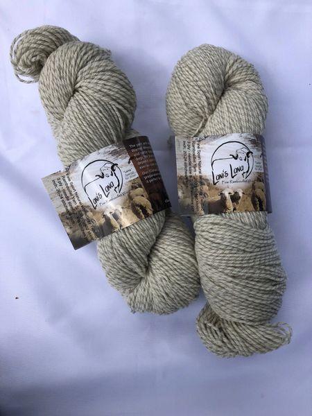 Warner Chalk Sport Weight Wool Yarn