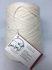 High Desert Snow Fingering Weight Wool Yarn on 3 lb cones
