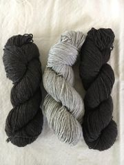 Home Camp Worsted Naturally Colored Rambouillet Wool Yarn