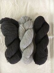 Hayes Range Naturally Colored Fingering Weight 2-ply Yarn