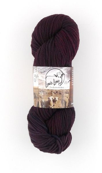 Clarks Valley Lava, Naturally Dyed Aran Wool Yarn