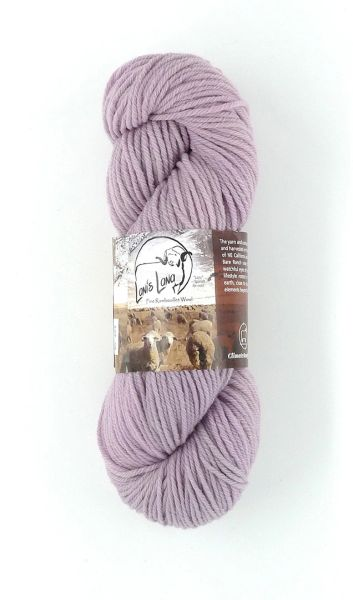 Clarks Valley Hollyhock, Naturally Dyed Aran Wool Yarn