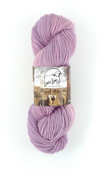 Rye Patch Hollyhock, Naturally Dyed Worsted Wool Yarn