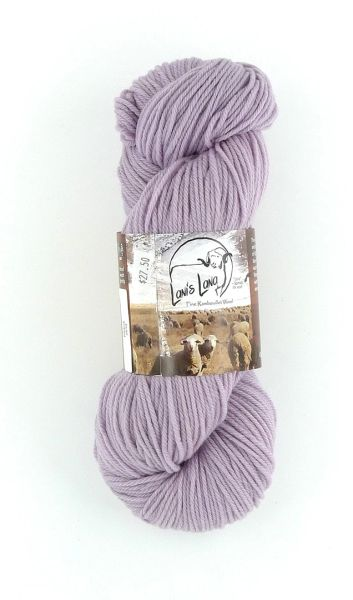 Rye Patch Phlox, Naturally Dyed Worsted Wool Yarn