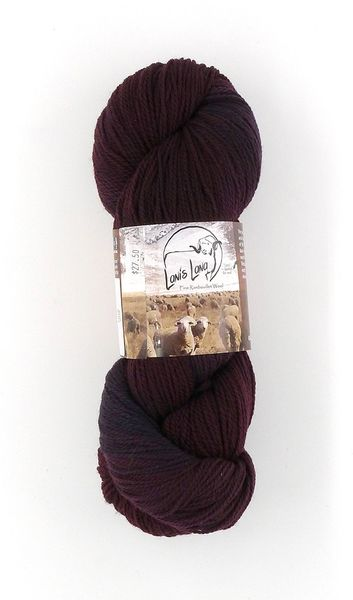 Buffalo Hills Lava, Naturally Dyed Sport Wool Yarn