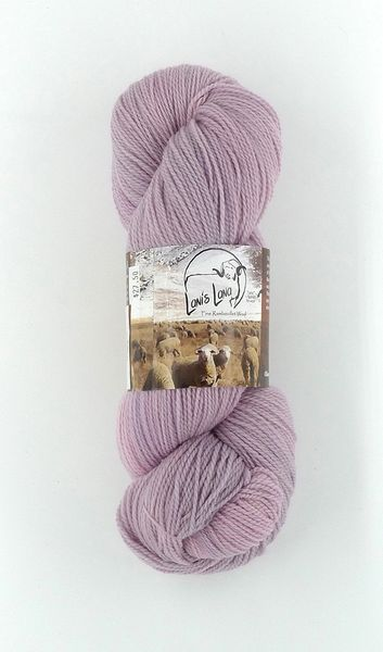 Buffalo Hills Hollyhock, Naturally Dyed Fingering Wool Yarn