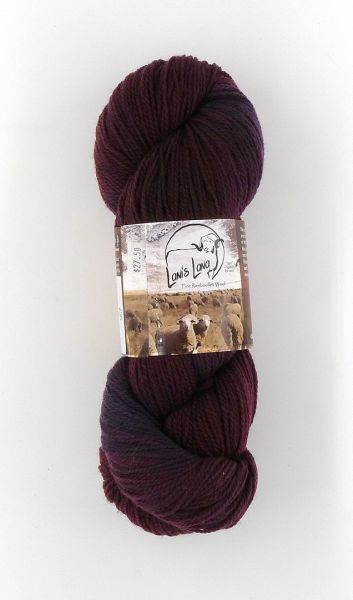 High Desert Lava, Naturally Dyed Fingering Wool Yarn