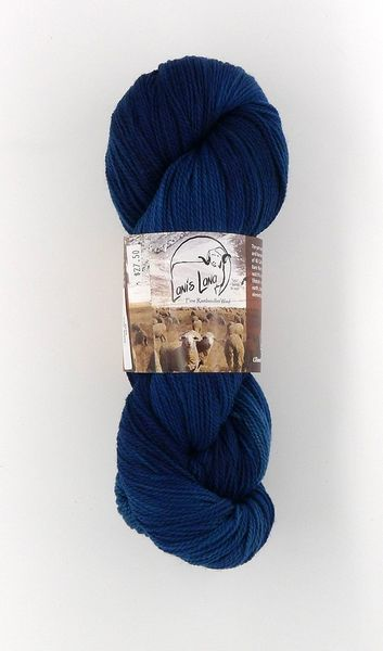 High Desert Dark Sky, Naturally Dyed Fingering Wool Yarn