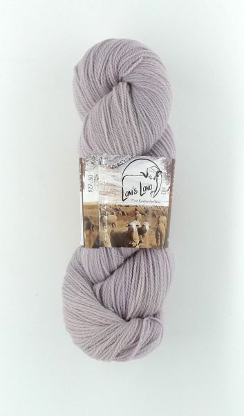 High Desert Phlox, Naturally Dyed Fingering Wool Yarn