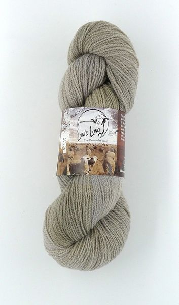 High Desert Sand, Naturally Dyed Fingering Wool Yarn