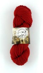 Clarks Valley Red Rock, Naturally Dyed Aran Wool Yarn