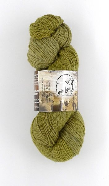 Buffalo Hills Willow, Naturally Dyed Sport Wool Yarn