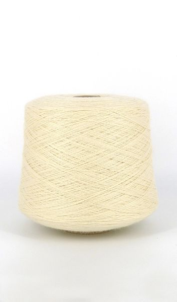 High Desert Snow Fingering Weight Wool Yarn on Cones 2.8 lb