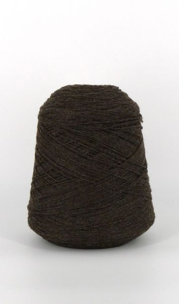 Home Camp Obsidian Worsted Wool Yarn on a cone