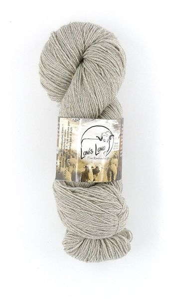 Hayes Range Shale. Naturally Colored Fingering Weight 2-ply Wool Yarn