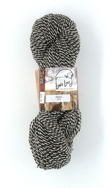 Warner Marble Sport Weight Wool Yarn