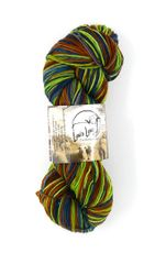 Cedar Pass Rambouillet Superwash Sock Yarn in Wolf Moss