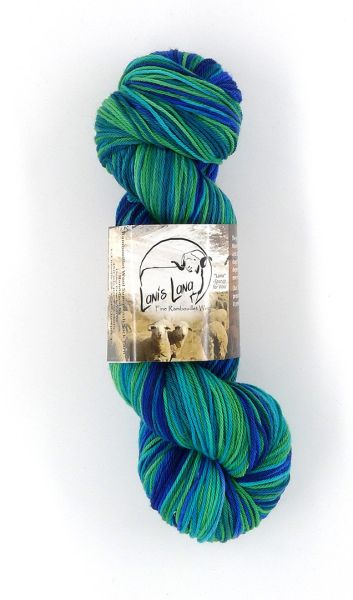 Cedar Pass Dragonfly Rambouillet Superwash Sock Yarn