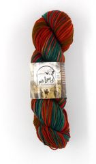Cedar Pass Rambouillet Superwash Sock Yarn in Mountain Mahogany