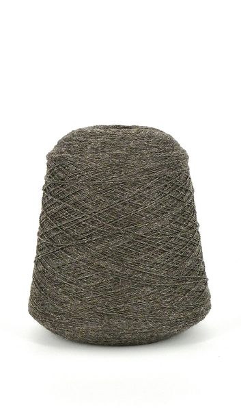Hayes Range Naturally Colored Charcoal Fingering Weight 2-ply Cone Yarn