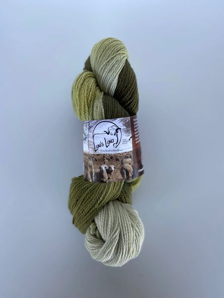 High Desert Wind in the Willows Fingering Wool Yarn