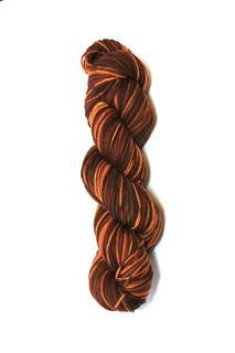 Cedar Pass Desert Sunset Rambouillet Superwash Sock Yarn