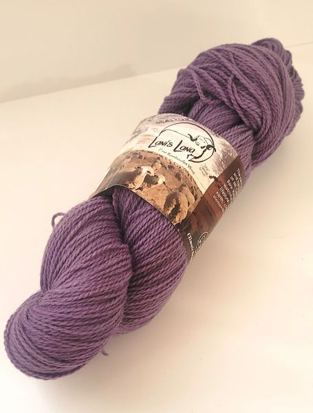High Desert Lupine Fingering Wool Yarn