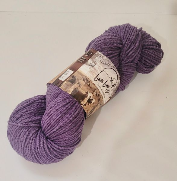 Rye Patch Lupine Worsted Rambouillet Wool Yarn