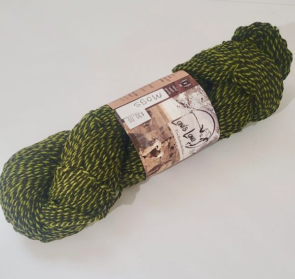Warner Moss Sport Weight Wool Yarn