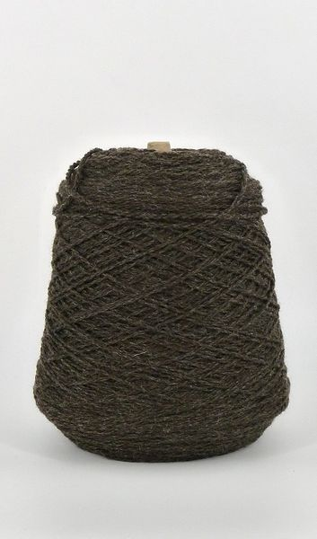 Bare Ranch Bulky Rambouillet Wool on Cone - Obsidian