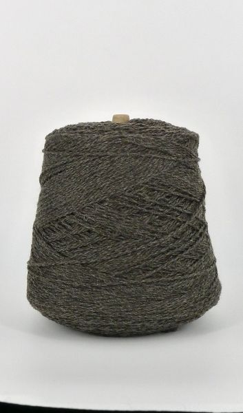 Bare Ranch Bulky Rambouillet Wool on Cone - Charcoal