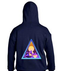 Abstract Pyramid Hoodie