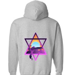 Abstract Triangles Hoodie
