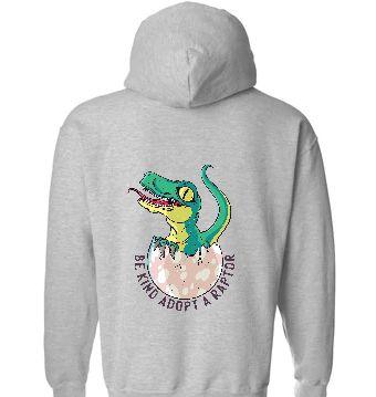 Adopt A Raptor Hoodie