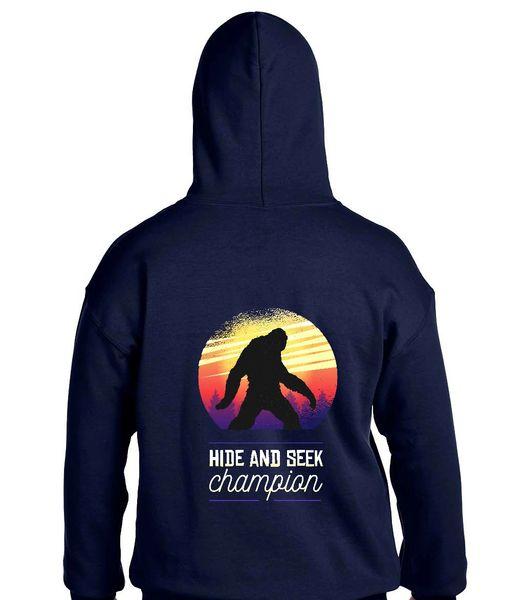Bigfoot, Hide and Seek Champion Hoodie