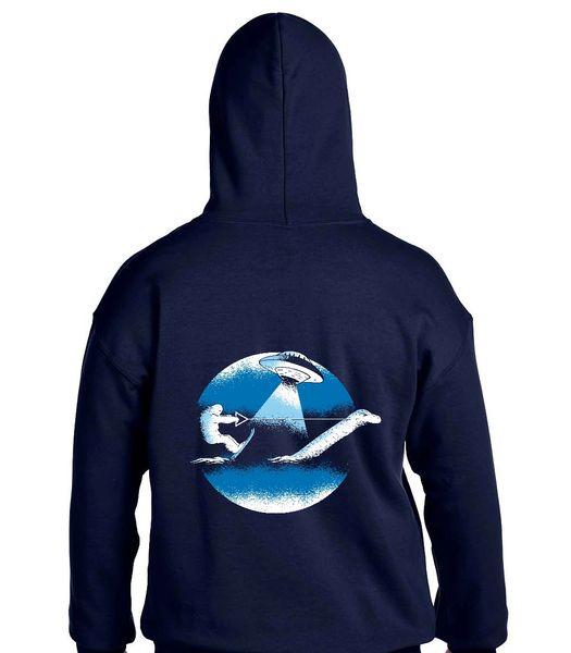 Water Skiing Yeti Hoodie